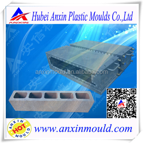 Best price Wood Plastic Extrusion Toolings for WPC Profile Slat Mold