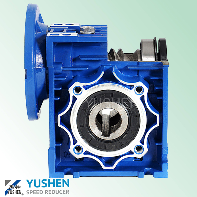VF025 to 090 Small Worm Gear 1:7.5 Ratio Reducer for DC Motor