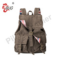 Best Seller Outdoor Canvas Backpack Satchel Rucksack Manufacturers China