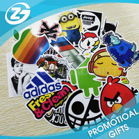 100pcs Random Music Film Vinyl Sticker
