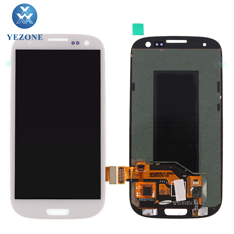 Mobile Phone Parts Dubai For Samsung S3 i9300 LCD Screen, For Samsung Galaxy S3 i9300 LCD Touch Screen Display