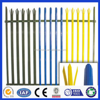 second hand palisade fencing for sale ( ISO9001:2008)