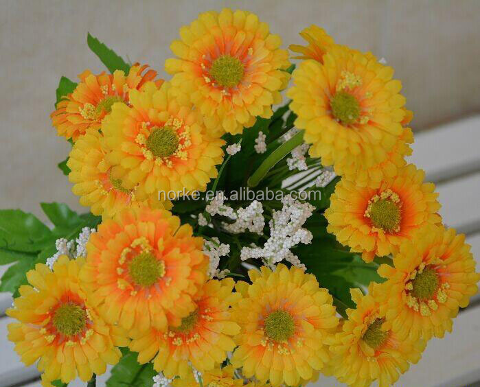 2014 Hot Selling Wedding Bouquet Wholesale Artificial Flowers For Sale