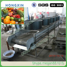 Hot sale fruit and vegetable washing and drying machine/stainless steel fruit and vegetable processing equipment line