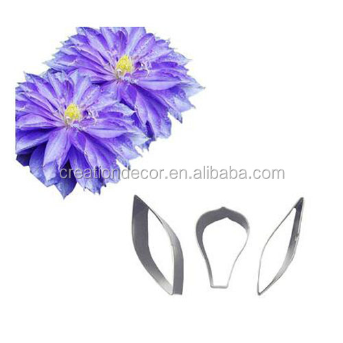 Stainless steel Chrisifong petal flower cake decorating cutter