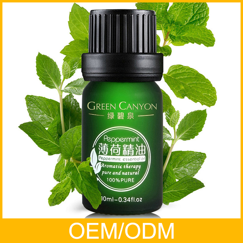 Relieving anxiety refreshes skin peppermint essential oil for sale