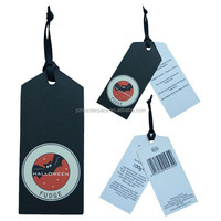 Jeans paper hang tag