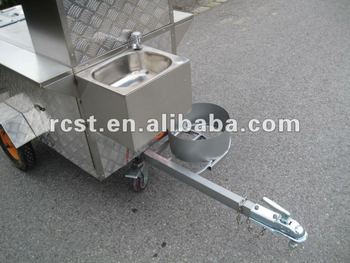 Gas Heated Food Cart