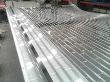 1.2mm PC polycarbonate roll up doors polycarbonate slat