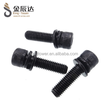 Black screw