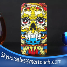 new products 2016 mobile phone cover for iphone 5 luminous skull heads skullheads flower fashion cases wholesale
