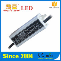 Ripple Less than 200mV 20W Waterproof IP67 2 Years Warranty DC12V Led Driver 1500ma