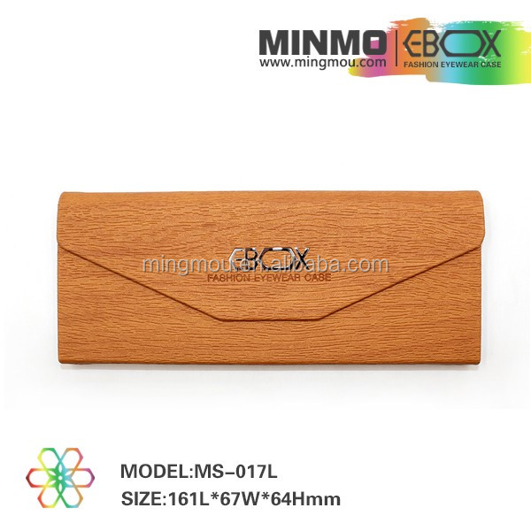 LEATHER,Genuine Vegetable leather Material folding sunglass case, folding glasses case, folding reading glasses with case