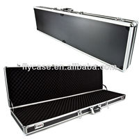 fine quality hard gun case with safe lock and strong handle