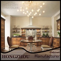 2015 Newest Design Custom All Wood Wholesale Kitchen Cabinets