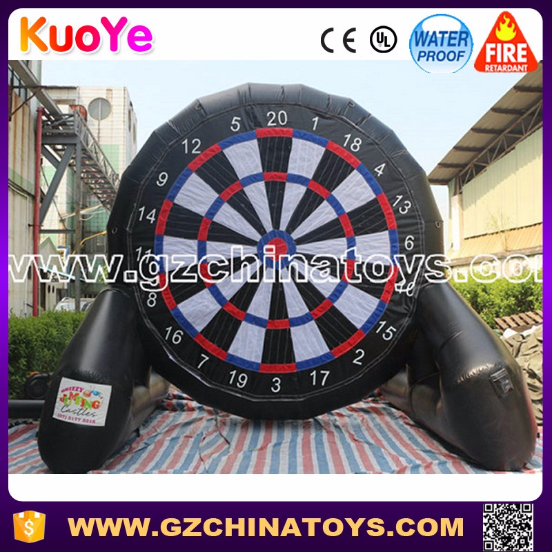 Popular football dart game inflatable soccer darts for sale