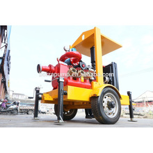 Trailer Fire Pump, Fire Fighting Water Pump,diesel engine trailer mounted water pump
