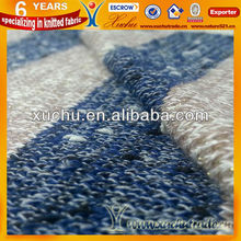 T/R Polyester And Rayon Plain Gold Lurex Corse Knitted Fabric