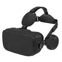 2017 newest vr all in one glasses 3d virtual reality headset