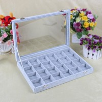 Factory Specialized Jewelry Workshop Custom foam velver insert sub-grid box