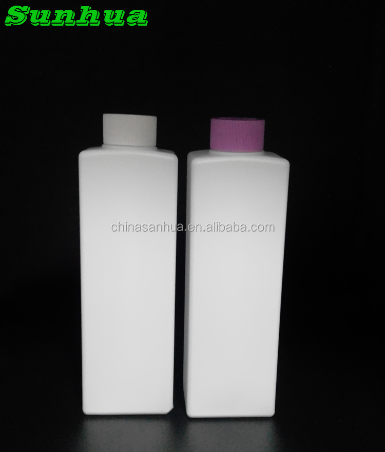1L 1000ml cleaning liquid detergent personal care aireless pe bottle with screw cap