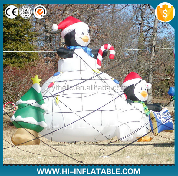 outdoor Christmas decoration inflatable snowman