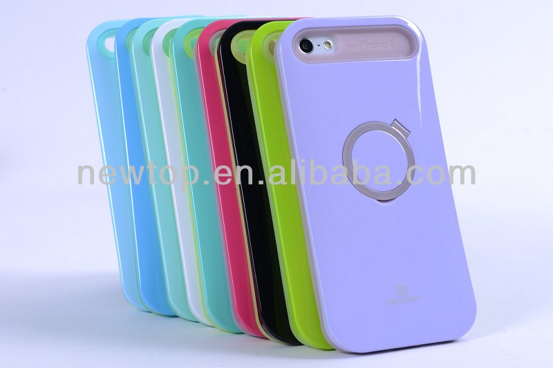 Newtop fluorescence phone case for iphone 4 factory supply mobile phone housing OEM