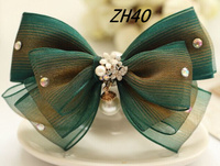 Hair Clip Accessories Design With Rhinestone For Woman
