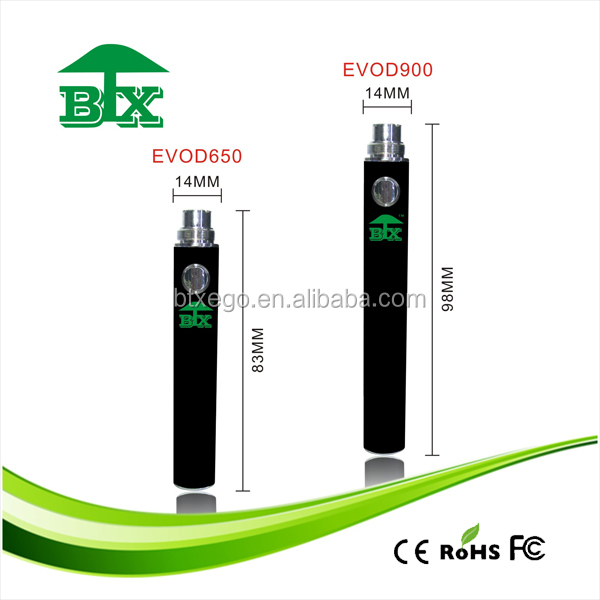 new products south korea high quality colored rainbow e cigarette evod battery
