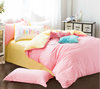 2015 Larry plain cotton fashion fitted sheet bedding set
