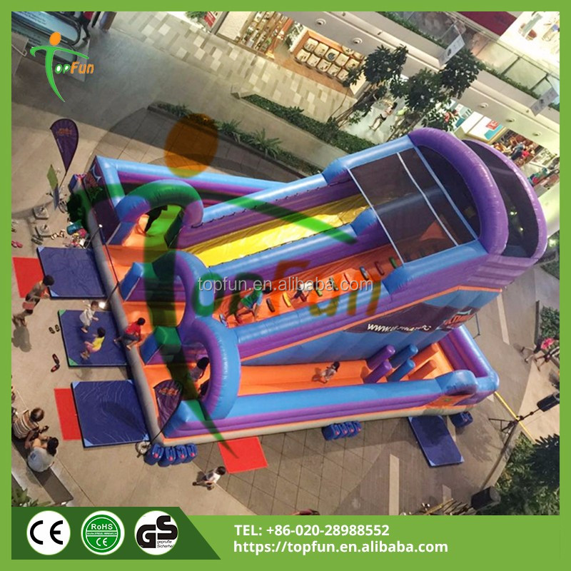 Kids fun city Inflatable Amusement Park Playgound equipment for sale
