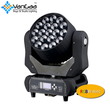 Top Quality Aura 19pcs 15W 4IN1 Caolor Mixing Zoom Beam Wash Moving Head Light