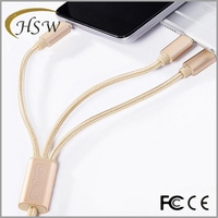 3 1 multi-function usb charger cable made in China