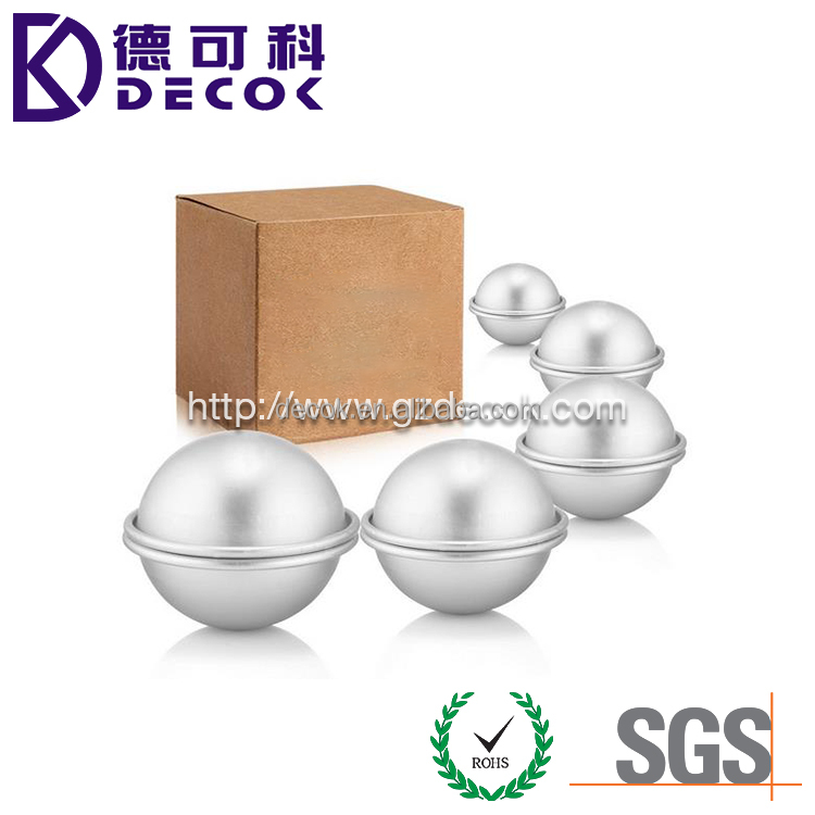 Perfect personal care gifts customized sets with package or logo Stainless Steel 45mm 55mm 65mm 75mm 85mm Bath Bomb Mold