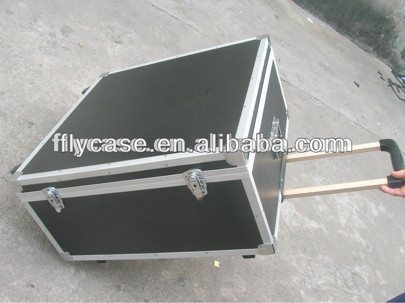 High quality aluminum pilot trolley case
