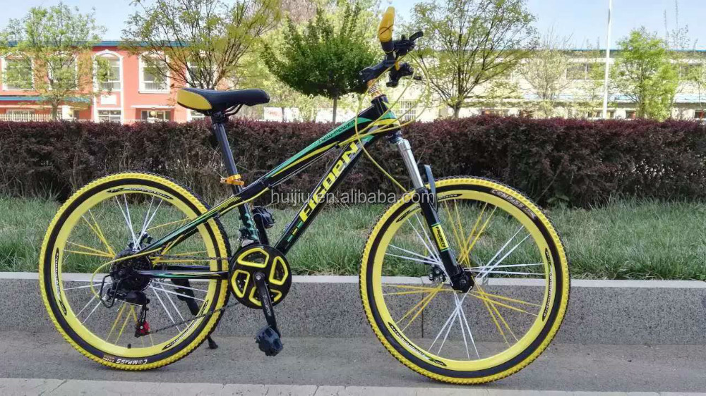 complete road bicycle