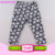 Newest Design Kids Floral Ruffle Leggings Baby Leggings Ruffle PP Girls Pants
