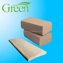 biodegradable Kraft holiday z fold paper towel
