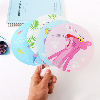 Promotional Gift Cartoon Advertising plastic PVC PP hand fan