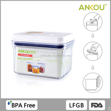 OEM ODM 1000ML Food Grade BPA Free Rectangle Plastic Containers/ Sealing food storage containers bulk long term