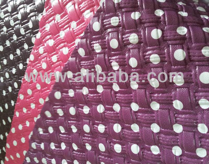 PVC Vacuum Embossed Leather