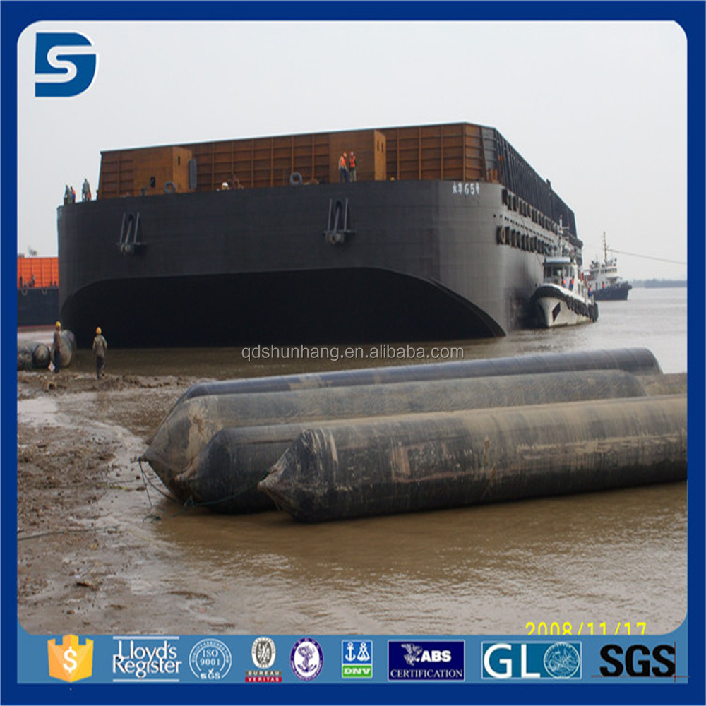Inflatable Barge Launching Rubber Airbag For Floating Boat Lift