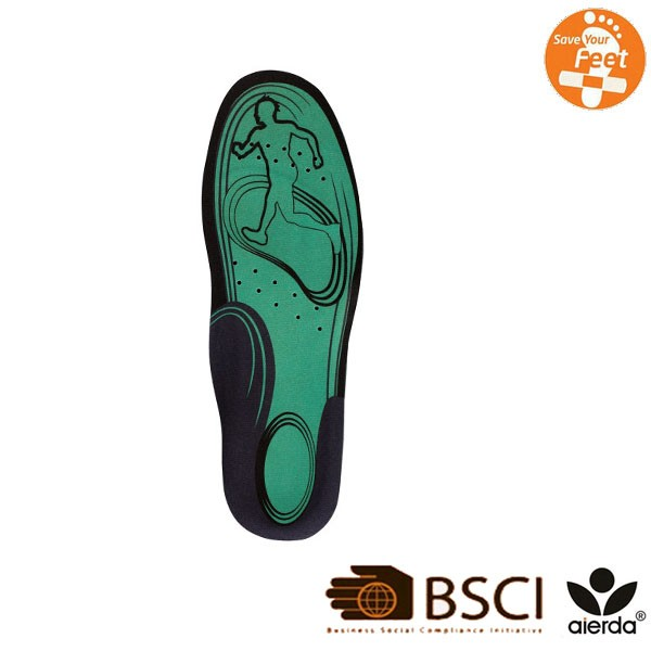 Latest Design Comfort Washable TPE Cushion Silicone Gel Insole
