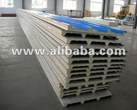 over lap PU sandwich panel for roof