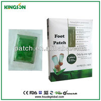 Hot sale Best detox foot patch/foot pad toxin remover/chinese pain patches