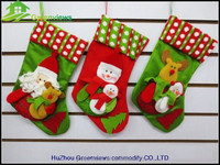 Father Chirstmas wholesale bulk promotional christmas stocking custom christmas stock suppliers