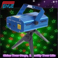 Mini laser light show projector/ mini box laser light/ mini portable disco laser