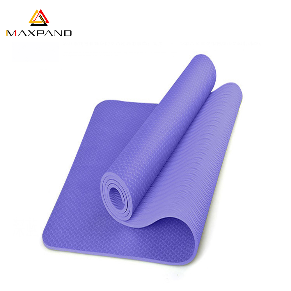 2017 Professional Manufacturer Eco Friendly TPE Custom Yoga Mat Outdoor Soft Prana NonToxic Yoga Mat with Private Label
