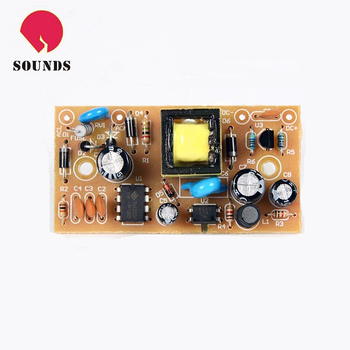 Printed circuit board assembly, home appliance pcb assembly, power supply pcba