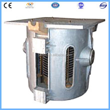 350KG Induction Graphite Crucible Furnace For Smelting Casting Gold Sliver Copper Scrap Jewelry Metal